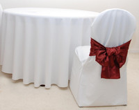 Wholesale 72 quot Round100 polyester table cloth polyester table cloth white color tablecloth