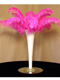 Free Shipping-Prefect Natural hot pink Ostrich Feather 10-12 inch,Wedding Decoration wedding centerpiece party decor event supply