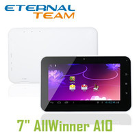 Wholesale 7 quot android tablet pc Allwinner A10 GHz GB GB HDMI Webcam