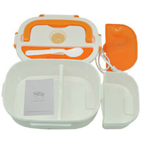Kitchen Ceramic ECO Friendly Electric heat Food Container Meal Heater Lunch Box 220V Portable New 2 colors