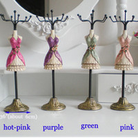 Wholesale The Mannequin Jewelry displays stand Rack organizer for sale Hot charm Gift poly painted Taille doll