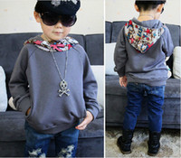 Wholesale ISSOKIDS Children Hoodies Boy Fashion Cotton Long Sleeve Overcoat Baby Clothing kids sweater