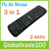 Wholesale Fly Air Mouse Wireless Keyboard Mouse Remote Control In RC11 GHz For Mini PC Android TV BOX