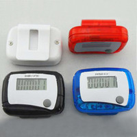 Wholesale Pocket LCD Pedometer Mini Single Function Pedometer Step Counter