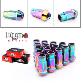 Wholesale Dyno Blox Forged Aluminum Lug Nuts P L mm Set Colors Of The Rainbow