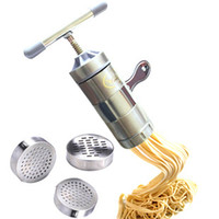 Wholesale Piece New Steel Home Manual Pasta Machine With Noodles Template Pasta Maker