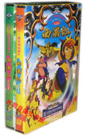 Wholesale Journey to the west Monkey King cartoon DVD factory sealed brand new pc