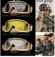 Wholesale Tactical revision desert locusts goggles ski Goggles riding glasses Sunglassesgood for paintball