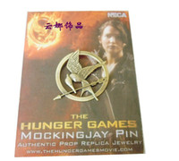 Wholesale Promotion The Hunger Games Pins Inspired Mockingjay high qaulity with orginal packing