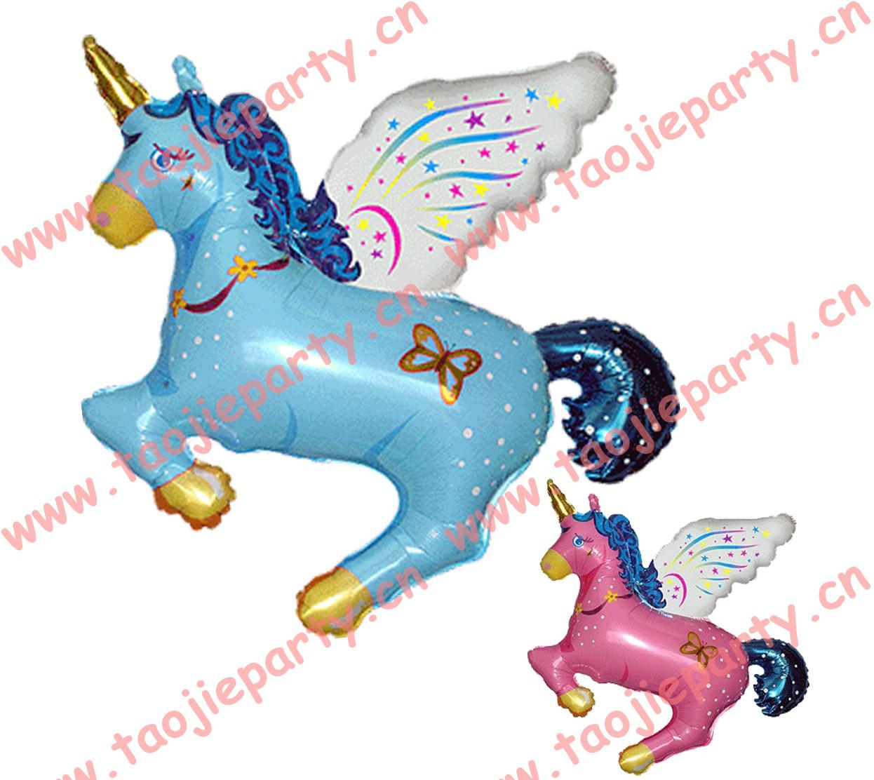 Wholesale Balloon - Buy Unicorn Shape Cartoon Balloons,foil Helium
