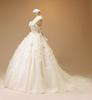 2013 Real picture Beading Handcirft ivory Bown Gown Wedding Dresses(Romanticweddinggown)