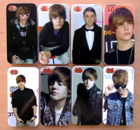 Wholesale 10pcs new justin bieber back case for iphone G S