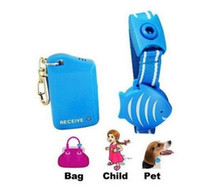Wholesale Anti Lost Alarm Wristband Baby Kids Pets Anti Lost Alarm System Blue Fish Design