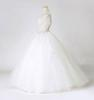 2013 Real picture Sweetheart Beading Lots of Handcirft Beaded Court Train Wedding Dress Ball Gown
