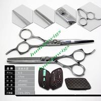 Wholesale KASHO Japan Hair Scissors Cutting scissors and Thinning Scissors professional kits inch set New