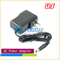 Wholesale Cheap V a US plug AC Power adapter for Tablet PC CCTV Camera mm Free shi