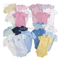 Wholesale Rompers Body Suit Baby One Piece Rompers Romper Onesies Cotton New Clothing