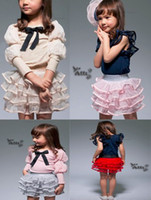 Wholesale Tiered Fashion Beautifull Girl s cake skirt Girl tutu skirt Baby Skirts Children Clothes Color pc