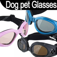 Wholesale 100pcs K08 New Fashion Pet Dog Doggles Goggles Sunglasses Eye Wear Protection Three Colours New