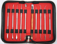 Wholesale New Dental Lab Stainless Steel Kit Versatile Wax Carving Tool Set quality guarantee
