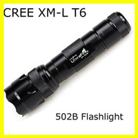 Wholesale For Sale New UltraFire B Lumens CREE LED XM L T6 Flashlight