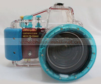 Wholesale HK POST M ft Underwater Waterproof Case Camera Housing Diving For SONY NEX C3