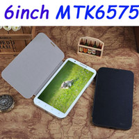 Wholesale 6 quot tablet PC G WCDMA MTK6575 Android GPS WiFi