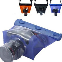 Wholesale High Quality Waterproof Bag case for DSLR SLR Digital Camera Underwater Waterproof bag Case DF M