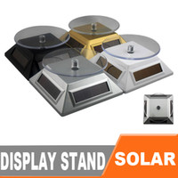 Wholesale New Solar Power Rotating Rotary Turntable Display Stand Turn Table Plate Platform EB870