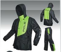 Wholesale POLE motorcycle riding combinations Suit the raincoat snow grams fabr motorbike jacket