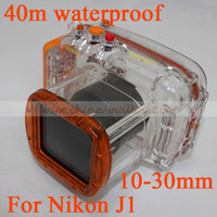 Wholesale Waterproof Camera Case for Nikon V1 mm Lens Underwater Diving Camera Housing m ft