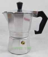 Wholesale ml aluminium cups stovetop espresso coffee maker
