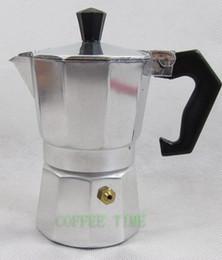 Wholesale ml aluminium cups stovetop espresso coffee maker