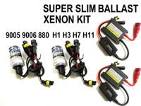 achat en gros de conversion hid kit 35w ac-KIT DE CONVERSION HID HID HID HID H1 H7 H8 H9 H10 H11 880 9005 9006 6000k, 8000k ...