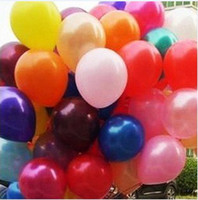 Wholesale Hot Colorful Inch Latex Balloons Christmas Decorations Wedding Birthday Party supplies Kids toys
