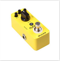 Wholesale Stompbox MOOER Triangle Buff Ultra Drive Boost Pedal Chorus Pedal True bypass Guitar AmpliTube