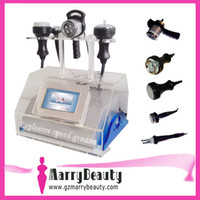 Wholesale 5in1 Ultrasonic Liposuction Cavitation Vacuum Bipolar RF Slimming Machine BIO Face Skin Lifting Slim
