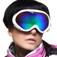 Wholesale New Men s Double layer Ski Goggles Set Anti fog Ski Glasses With Box Ski Goggles For Myopia MG61B