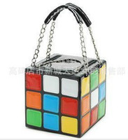 Wholesale Girl Women s Cute Magic Cube Bag Handbag Purse Gift New Bags women lovely handbags B032
