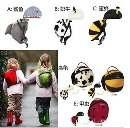 Wholesale 5pcs Littlelife Toddler Baby Safety Harness BackPacks Children Reins school bags Cartoon Rucksacks