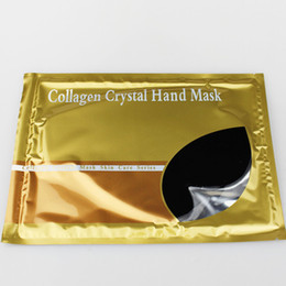 Wholesale 18pcs Collagen Bionic Crystal Hand Mask colors Whitening moisturizing