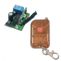 Wholesale Mini Channel MHz DC V Wireless Remote Switch Transmitter amp Receiver Toggle Control