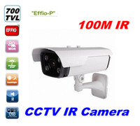 Outdoor CCD 700TVL IR Array Weatherproof  Camera HD 100M Long Range 700TVL Sony EFFIO-P CCD CCTV IR Array Security Camera Outdoor Weatherproof cam