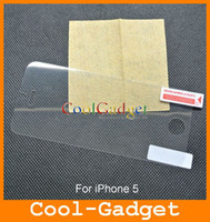Wholesale Crystal Clear Screen Protector Film Guard Case for iPhone G iPhone5 no RP MSP523