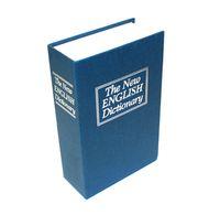 safe deposit box - Newest English dictionary book piggy bank money coins saving bank proof safe deposit box