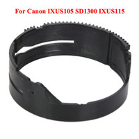 Wholesale Camera Lens Focus Gear Ring For Canon IXUS105 SD1300 IXUS115 New Black