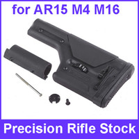 Wholesale Best quality PRS Precision Rifle Stock Butt Stock Gun Stock for AR15 M4 M16 Black