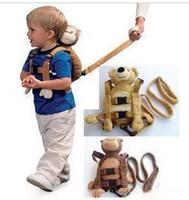 Wholesale Baby Walker Toddler Cartoon Animal Backpack Baby ladybug bags Prevent Kids Lost Backpack Beetles Bag