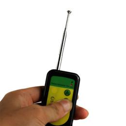 Wholesale Black Anti Spy Bug RF Radio Wireless Broadband Pinhole Camera Detector Hidden Camera Explorer Finder