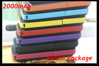 Cheap black red pink orange blue yellow etc External Battery iphone 4 Best For Apple iPhone  power bank iphone 4S